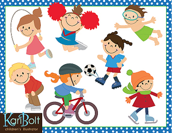 action clipart different