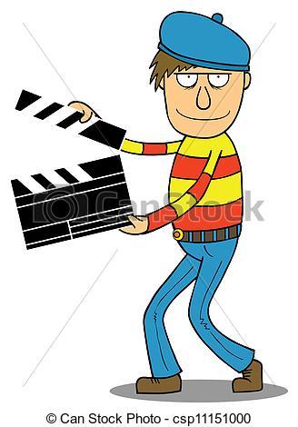 clip art clipartlook. Action clipart director