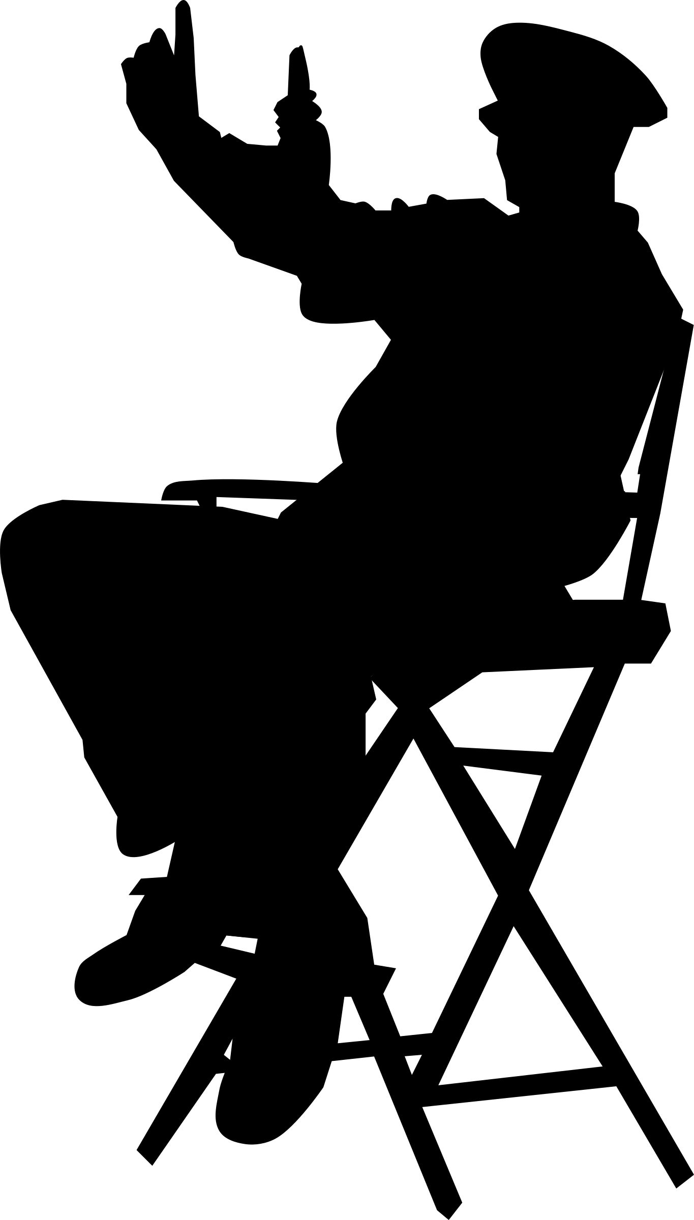 In chair wikiclipart . Action clipart director