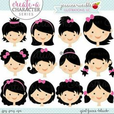 Action clipart emotion. Kids in faces clip