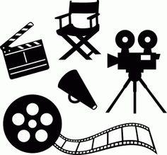 Action clipart filmmaking. Pics for film reel