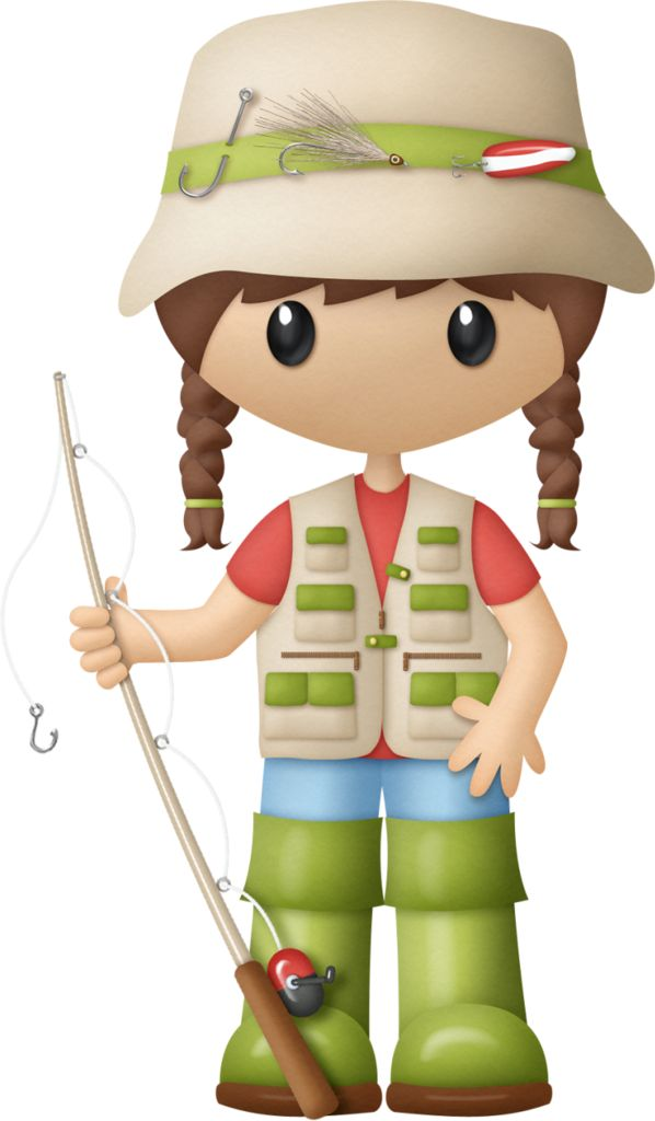 best camping hiking. Action clipart fishing