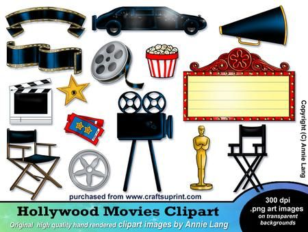 Action clipart hollywood.  best fame images