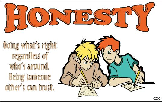 Honest station . Honesty clipart clip art