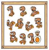 Penguins in by teach. Action clipart kind action
