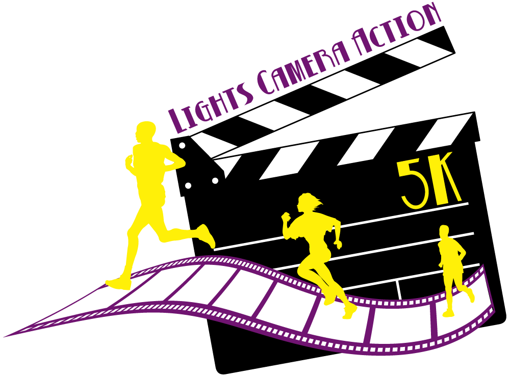 Databar events k . Action clipart lights camera action