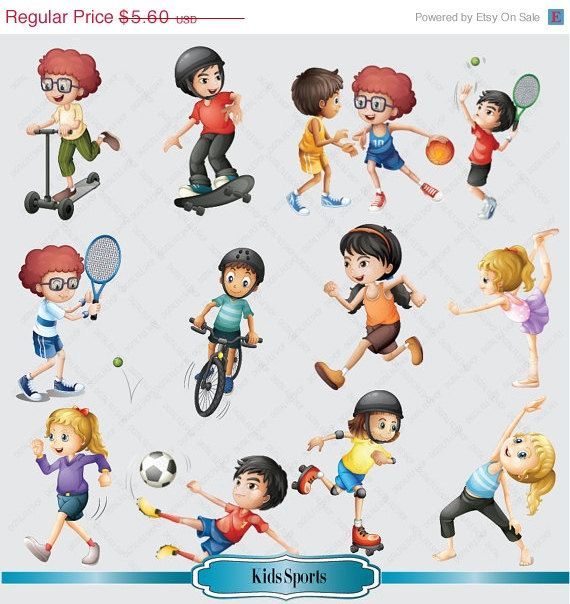 best fonts images. Athletic clipart youth sport