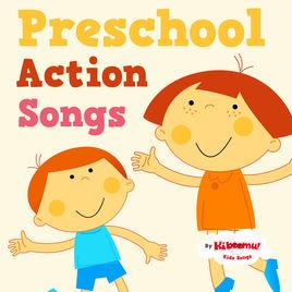 Action clipart preschooler. Preschool songs by the