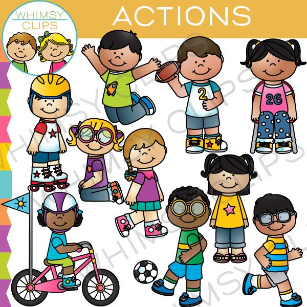 Action clipart preschooler. Cilpart lofty ideas kids