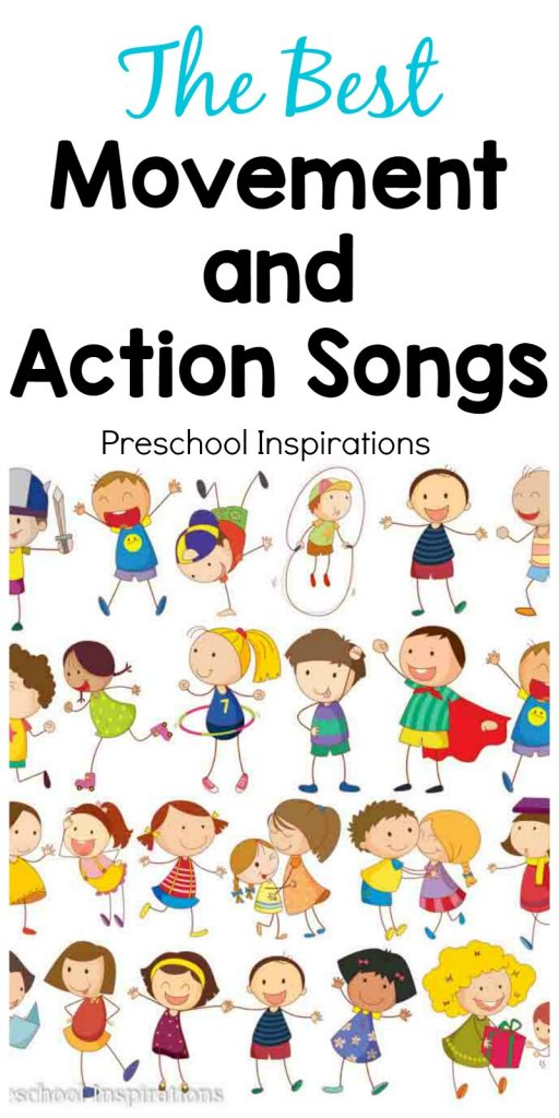 The best movement and. Action clipart preschooler