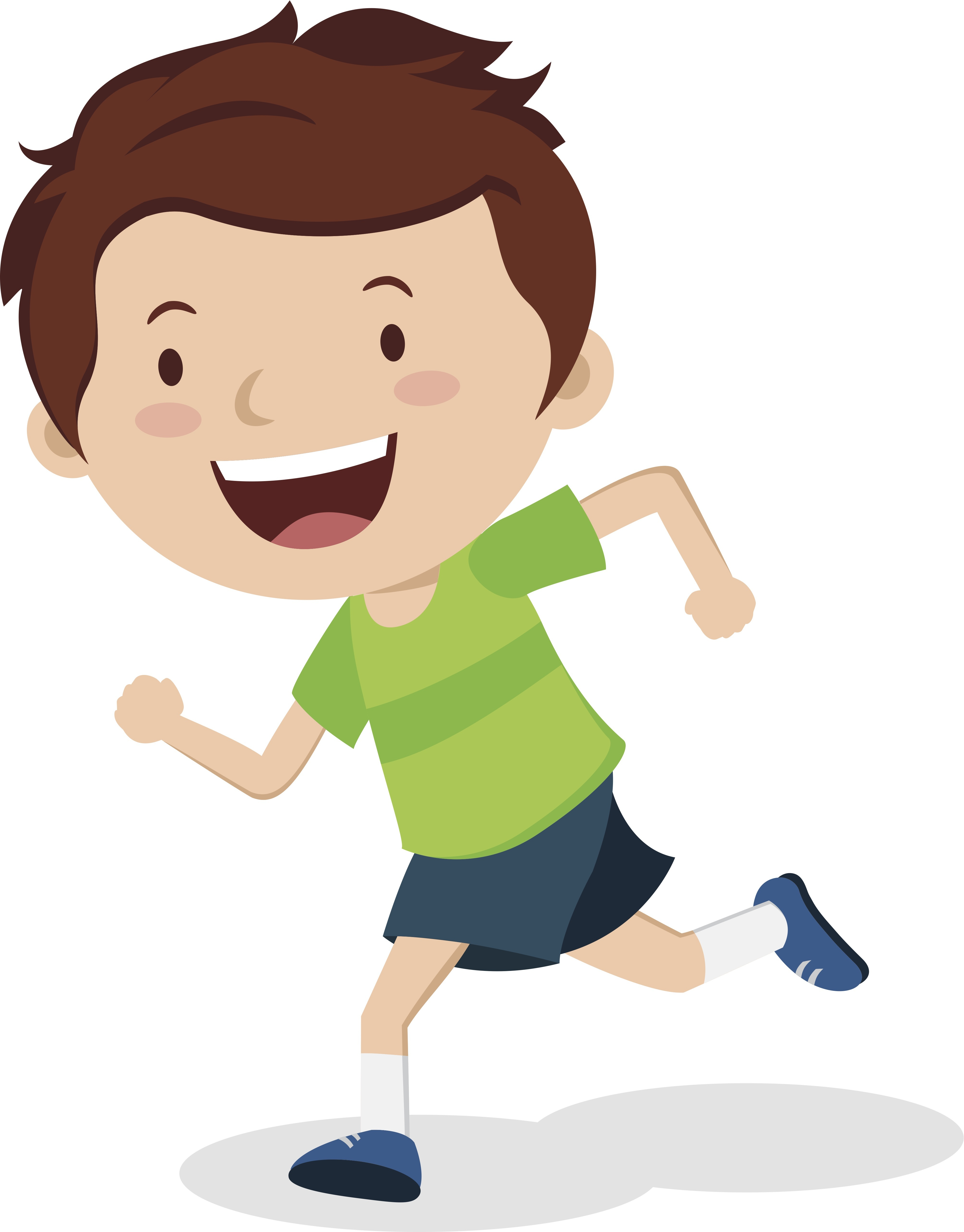 Action clipart run. The importance learning through