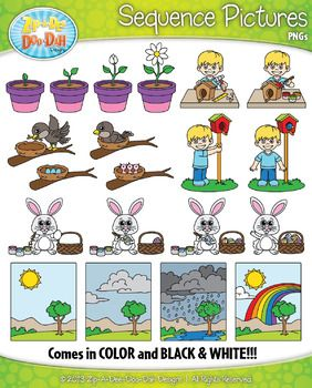 Action clipart skill. Spring sequence pictures zip
