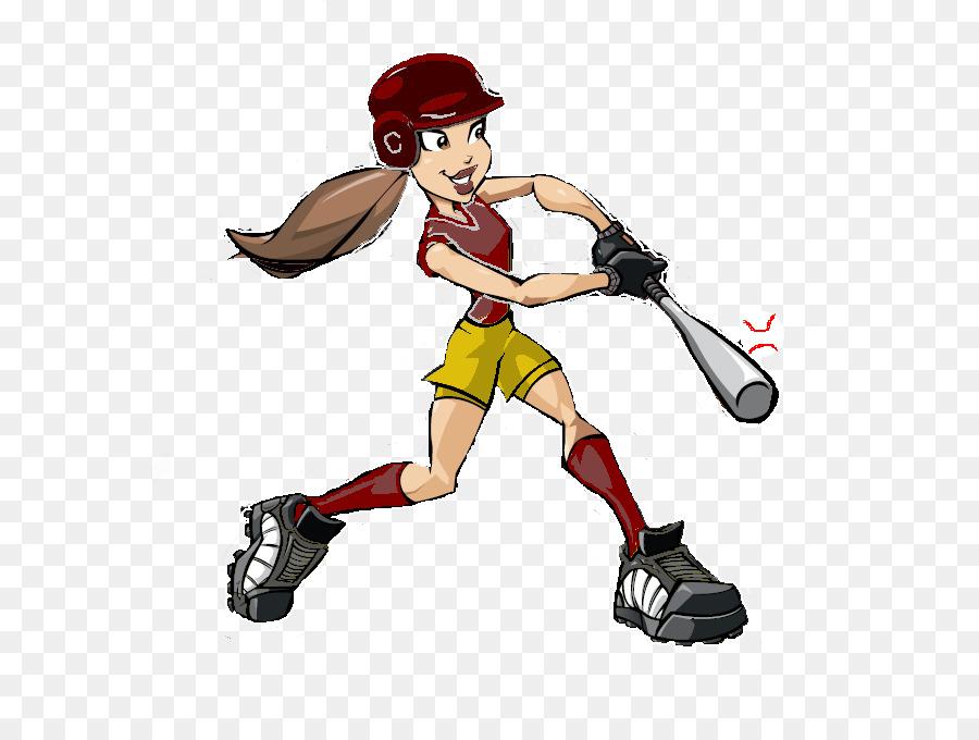Action clipart softball. Fastpitch baseball cartoon clip