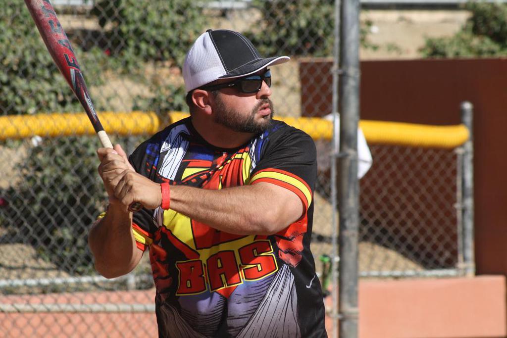 . Action clipart softball