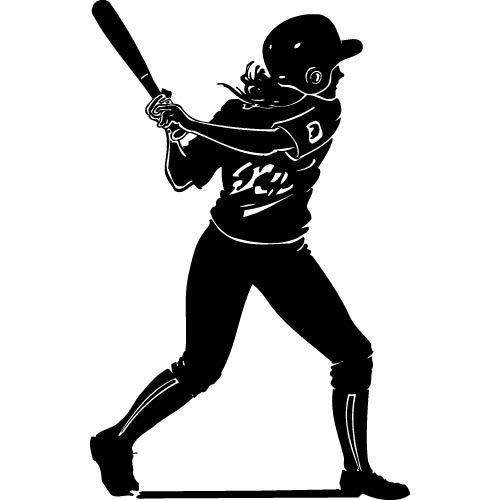 Clip art all ball. Action clipart softball