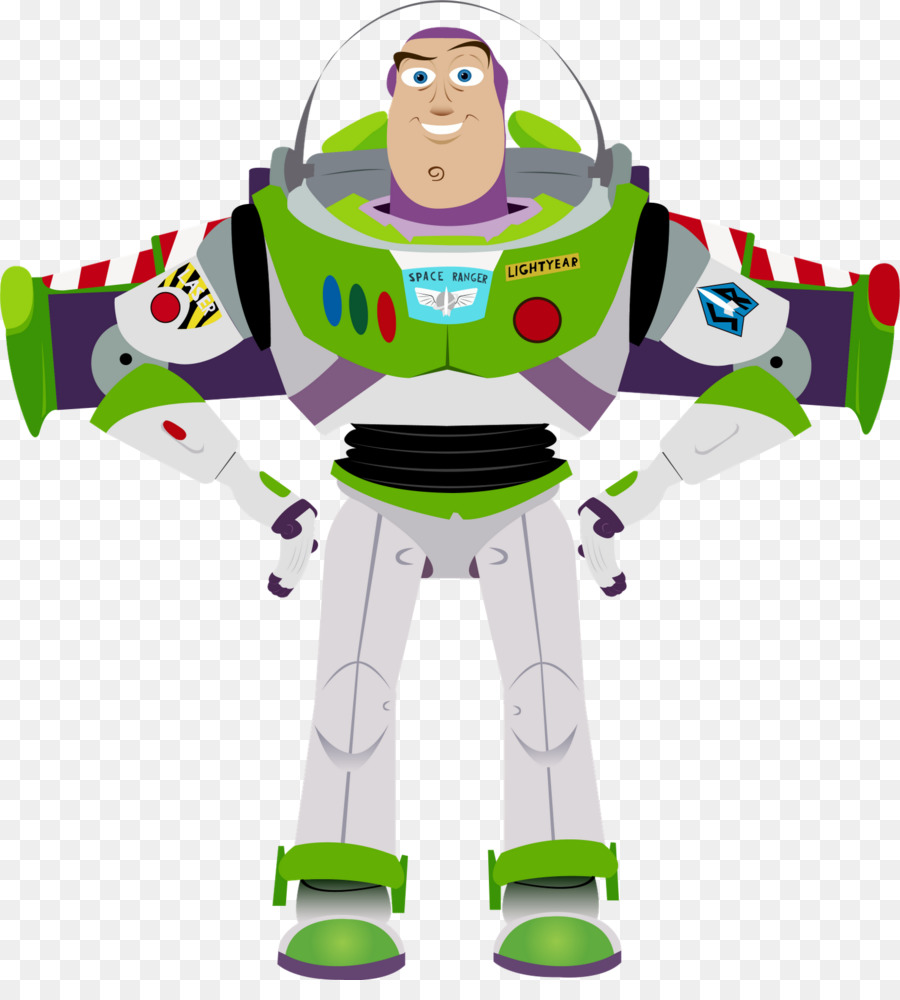 Action clipart story. Buzz lightyear zurg toy