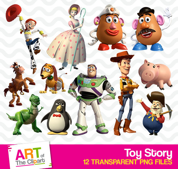 Toy high resolution images. Action clipart story