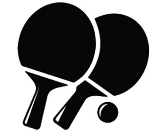 Action clipart table tennis. Ball etsy logo ping