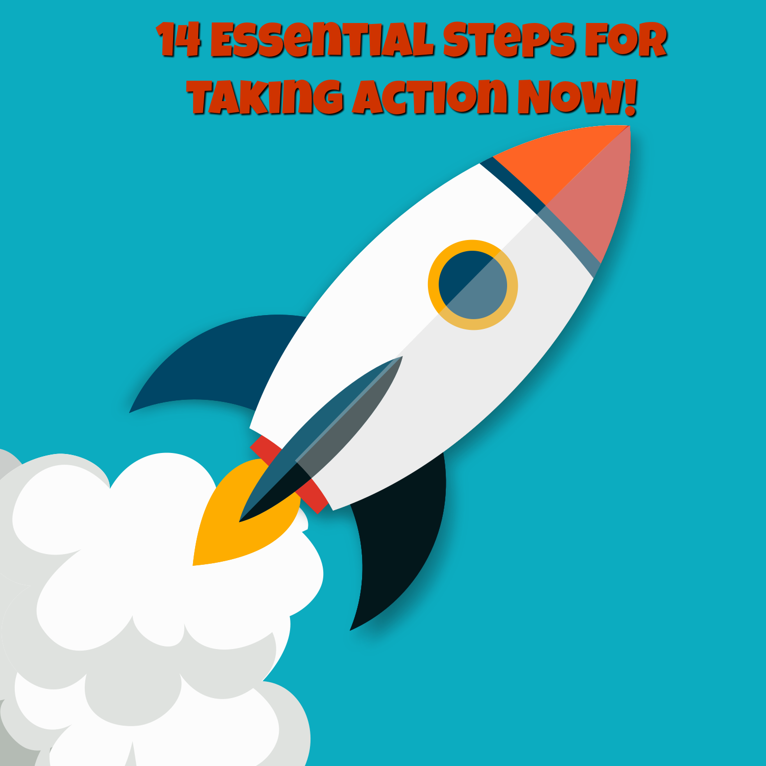 Action clipart take action.  essential steps for