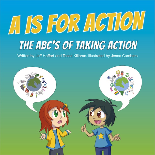 Action clipart take action. The book a is