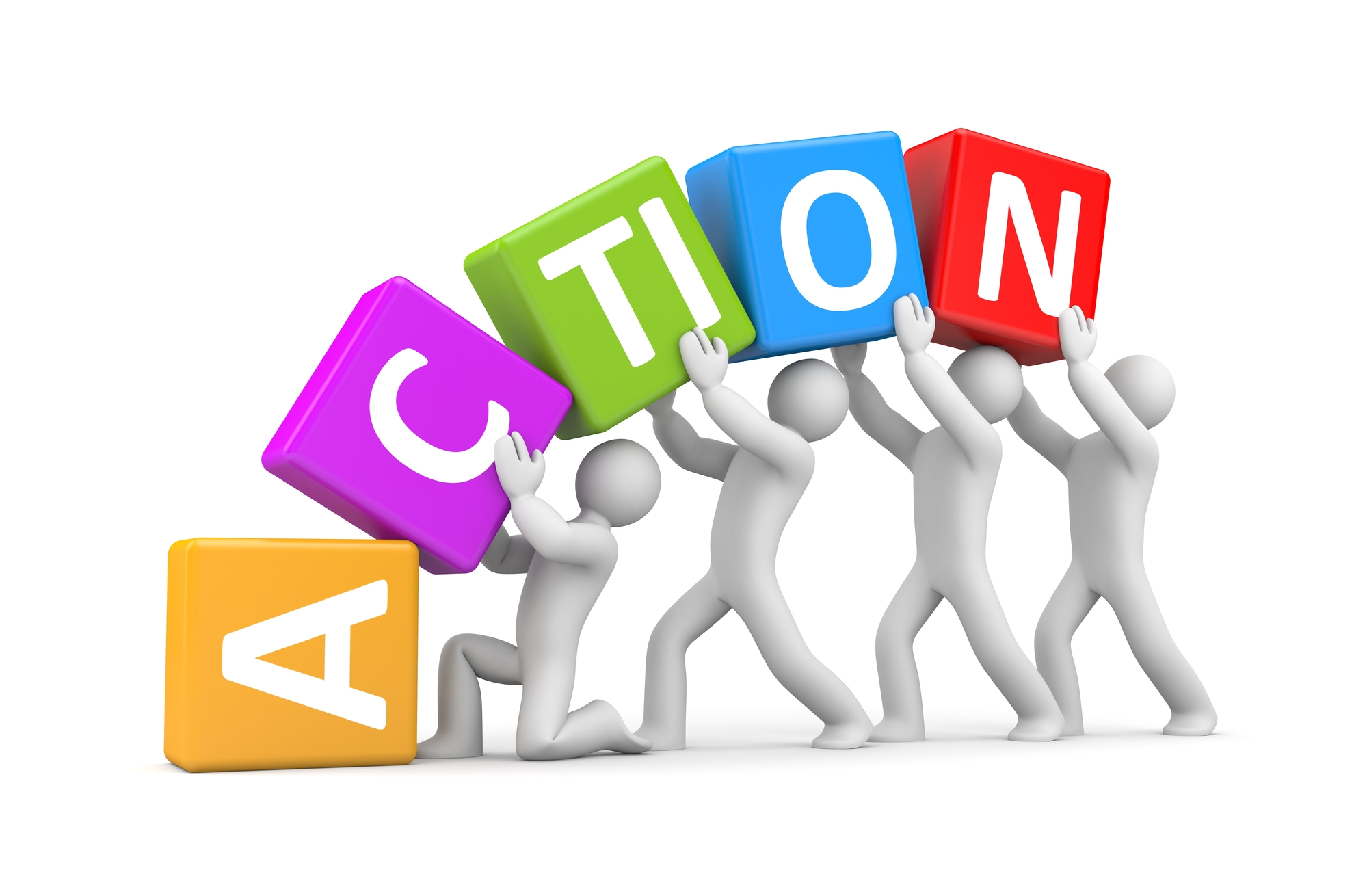 Action clipart take action. How many people do