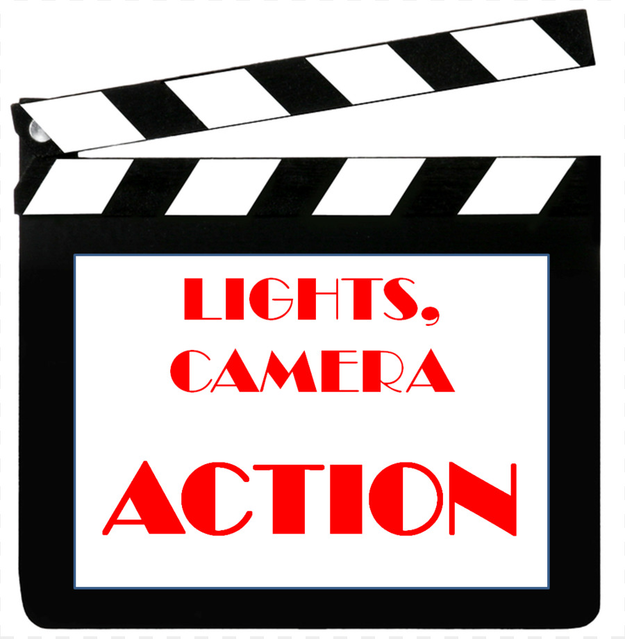 Action clipart transparent. Hollywood light film clip