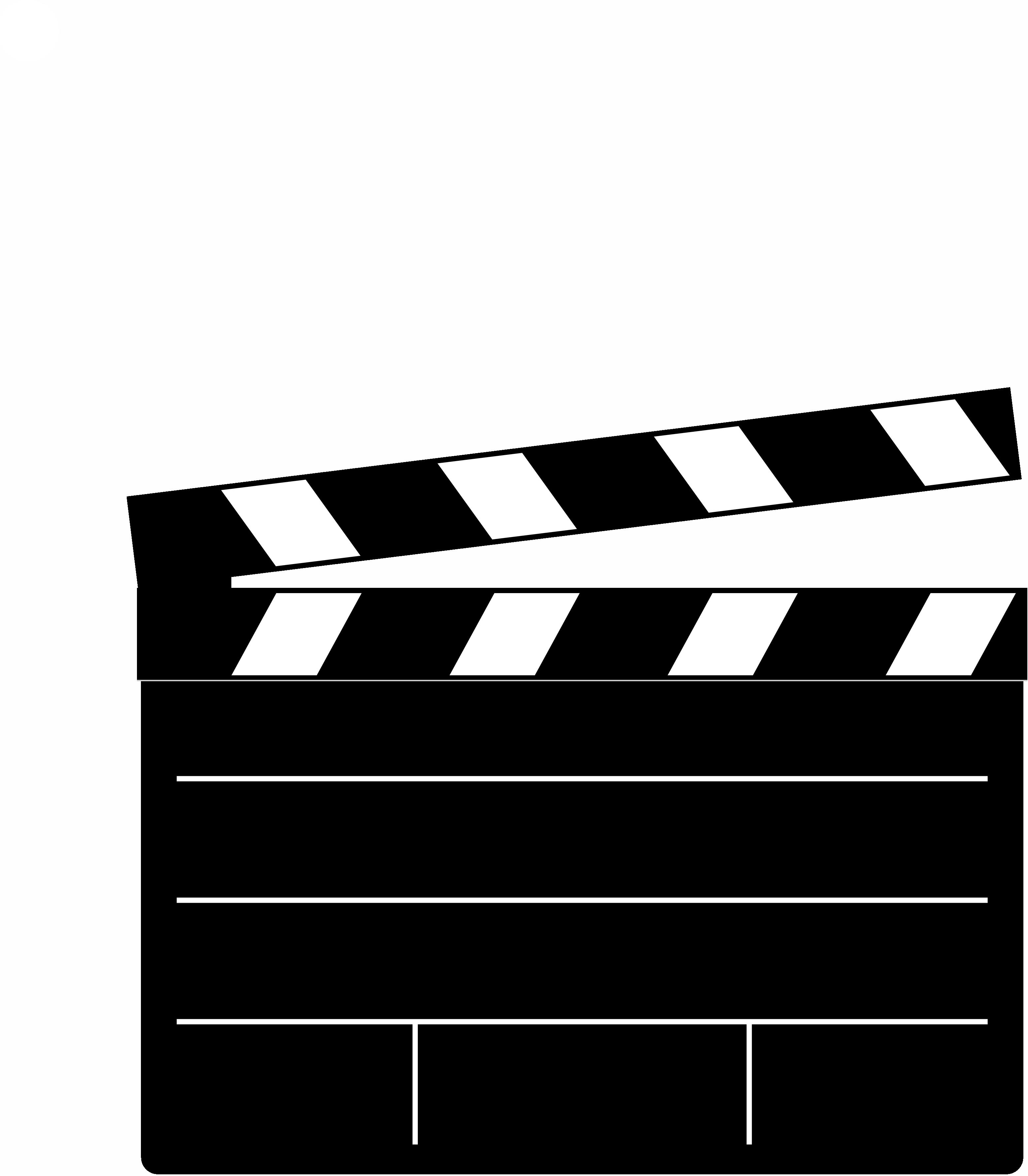 Action clipart transparent. Clapperboard png images pluspng