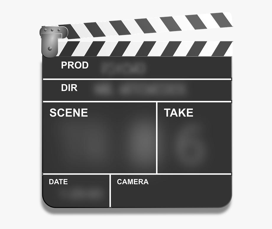 Film png clapper lights. Action clipart transparent