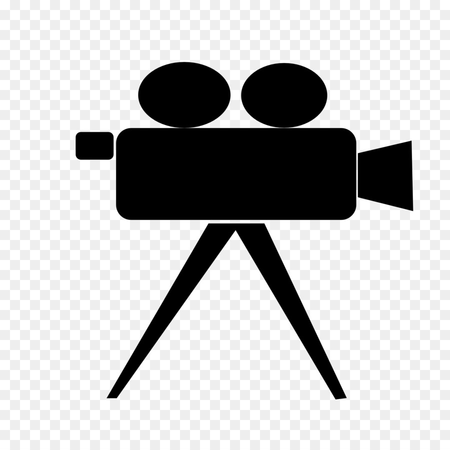 Cameras computer icons clip. Action clipart video