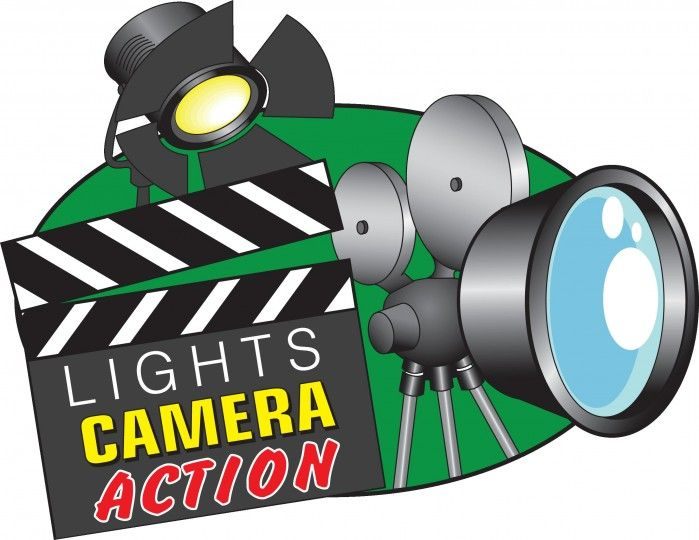 Action clipart video production. Creative spring break camp