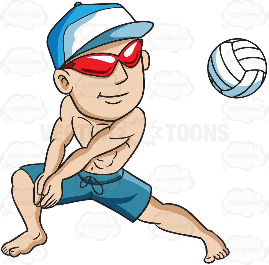 Action clipart volleyball. Cartoon pictures group a