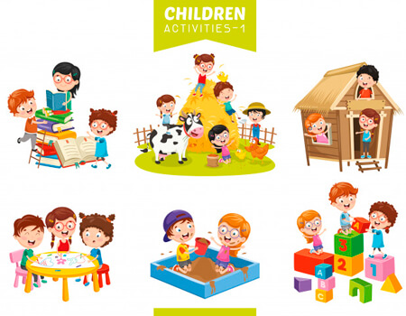 free school for. Activities clipart