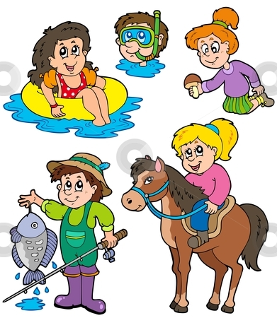 Activities clipart. Fun family ideas mnmgirls