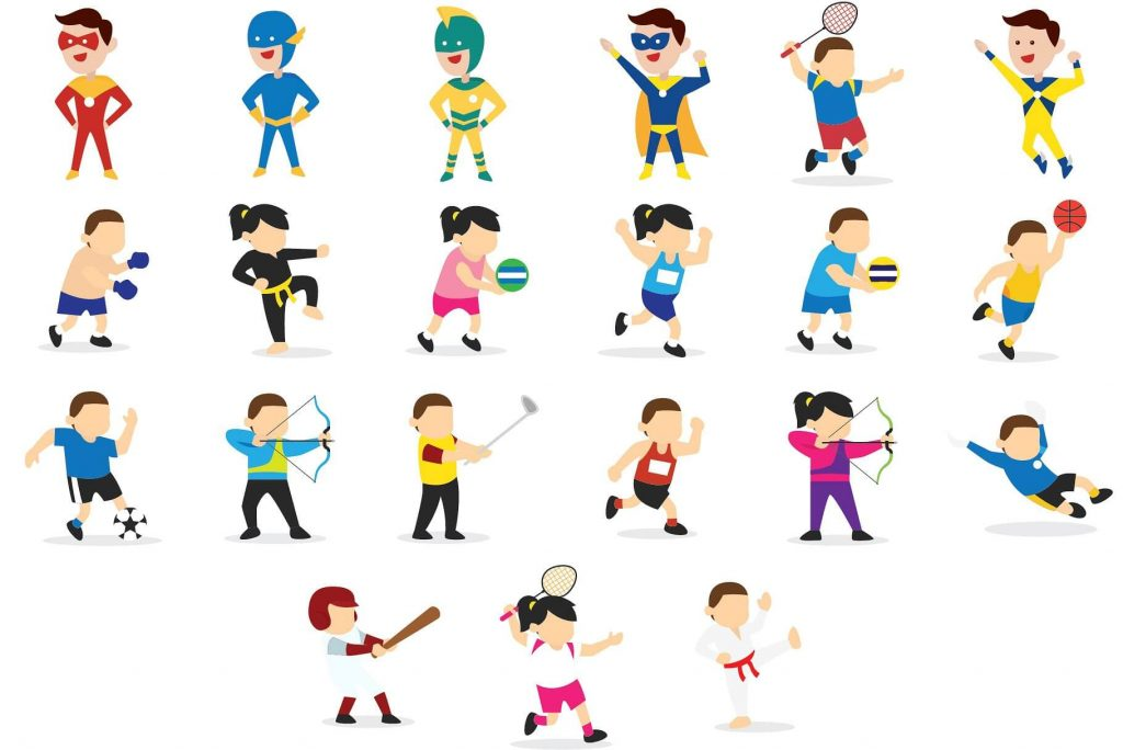 Activities clipart activites.  kids bundle