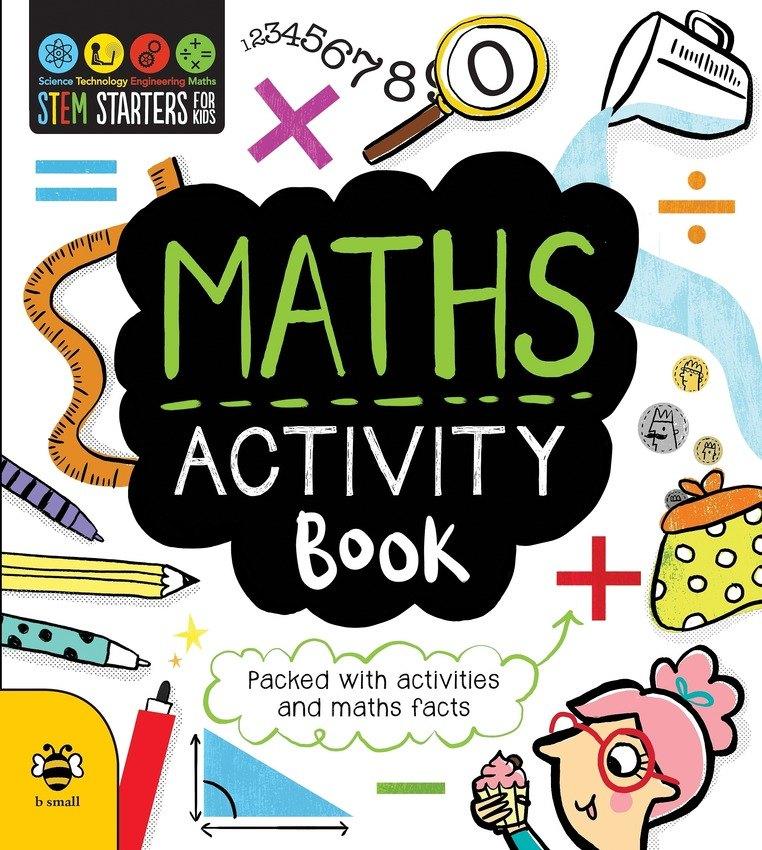 Maths stem . Activities clipart activity book