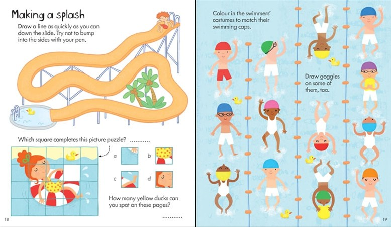 Activities clipart activity book. Little childrens travel