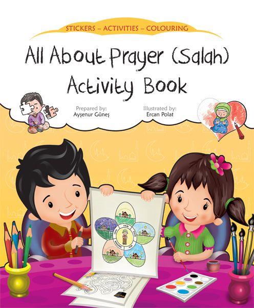 Activities clipart activity book. All about prayer salah