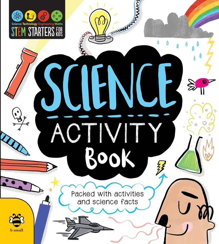 Activities clipart activity book. Science stem