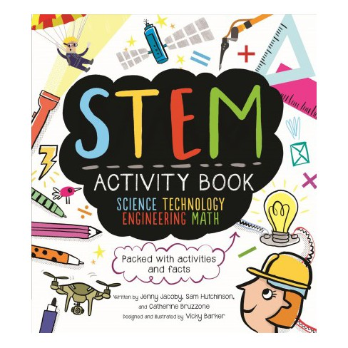 Stem packed with and. Activities clipart activity book