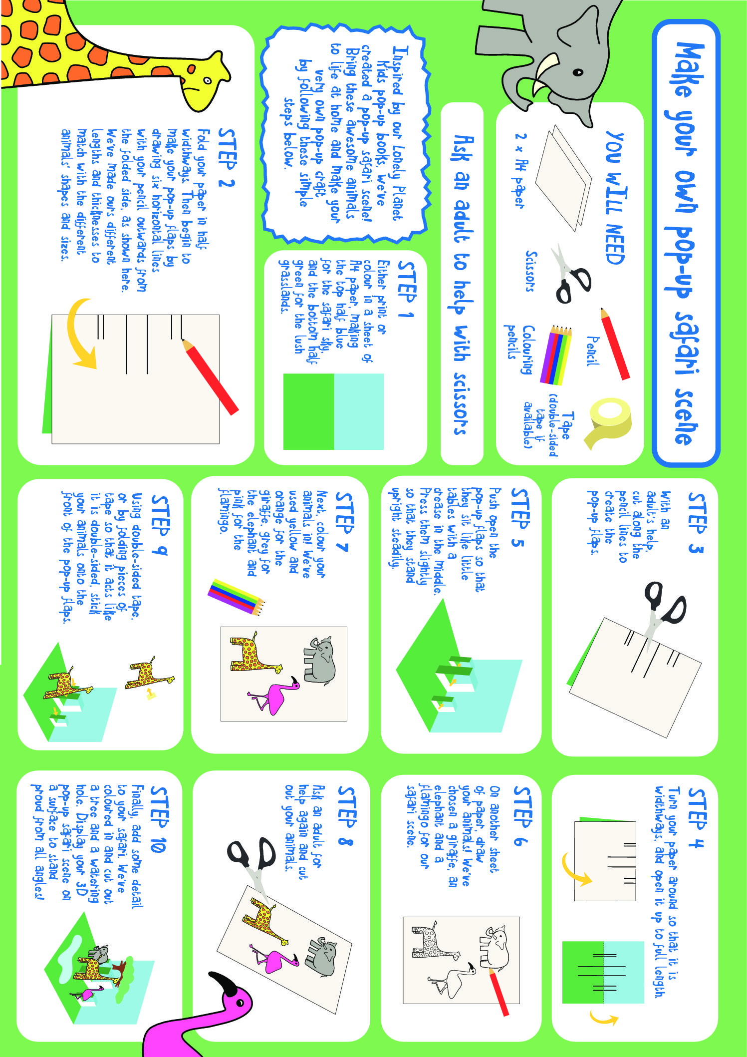 Sheets lonely planet kids. Activities clipart activity sheet