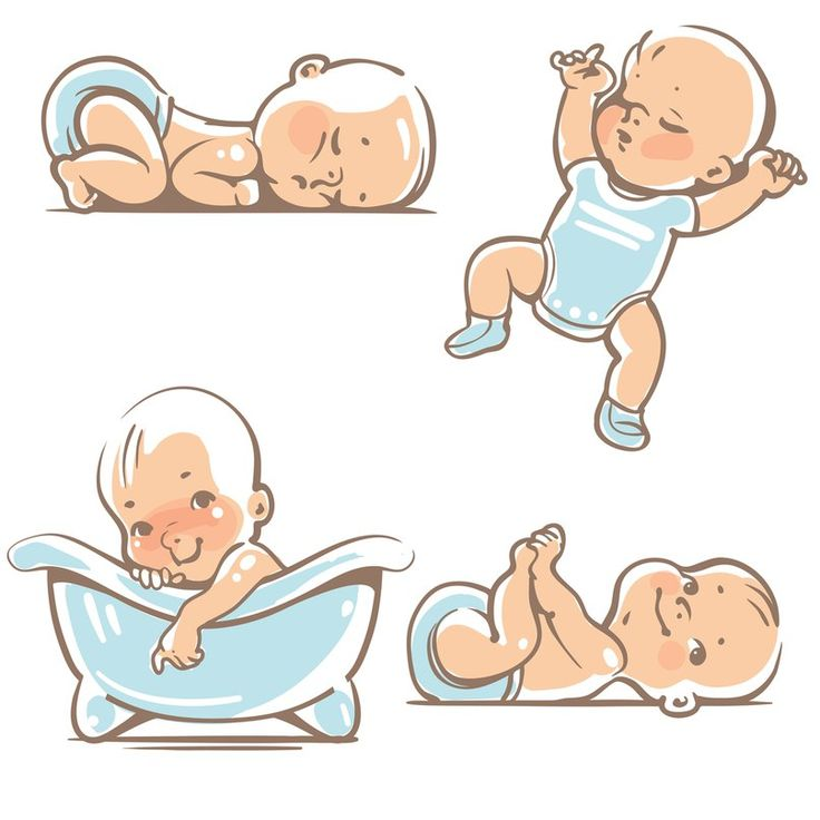 best drawings images. Activities clipart baby