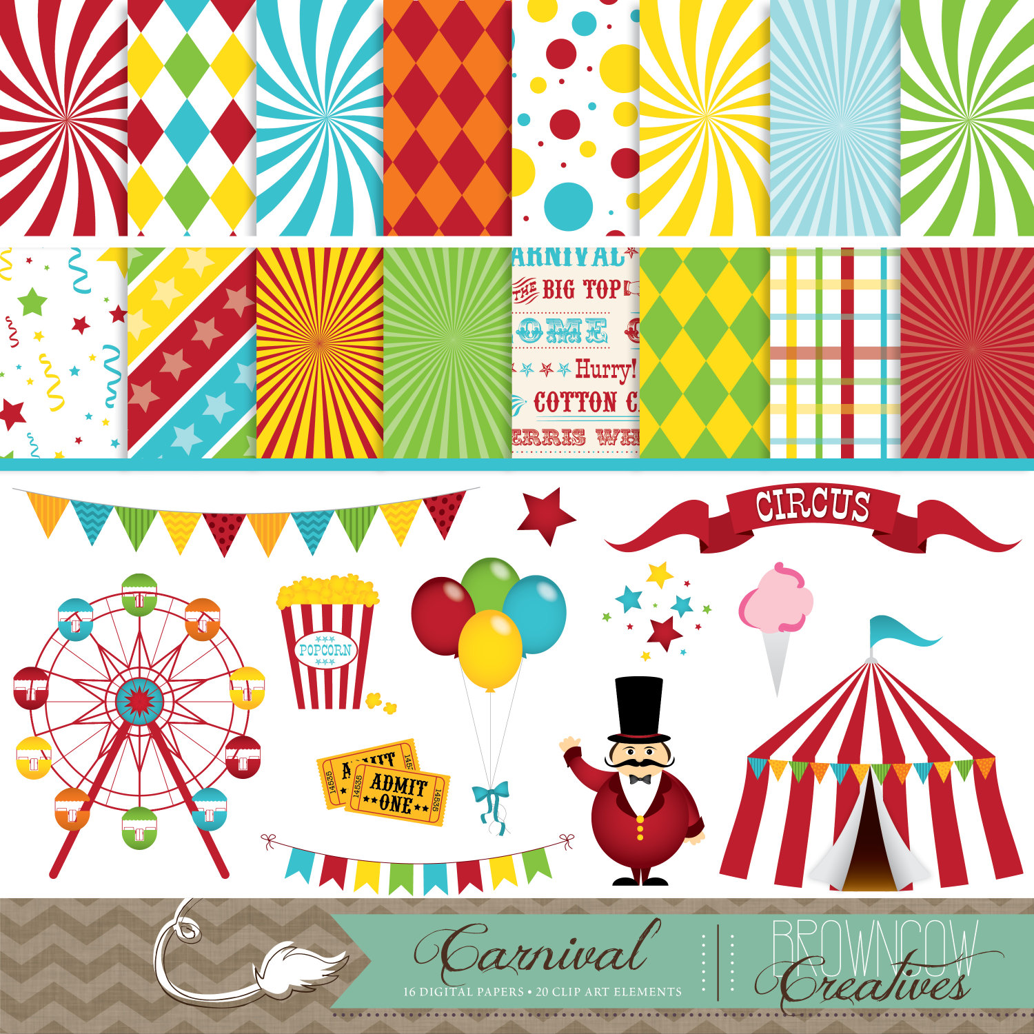 Clip art banners and. Activities clipart carnival