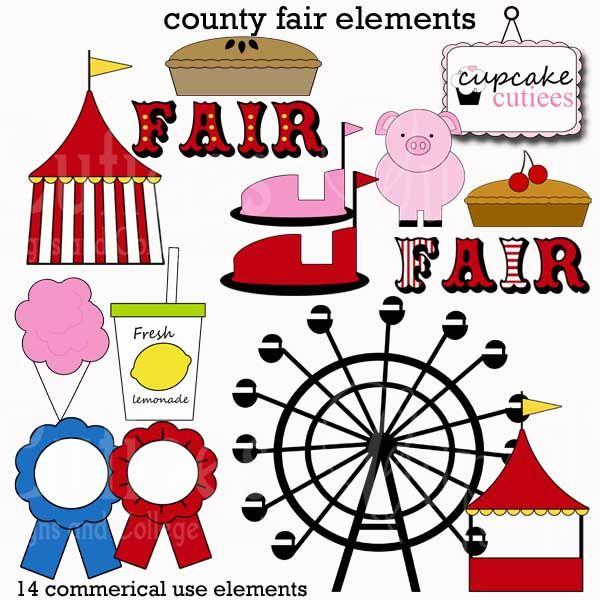 Carnival clipart county fair. Fun adorable clip art