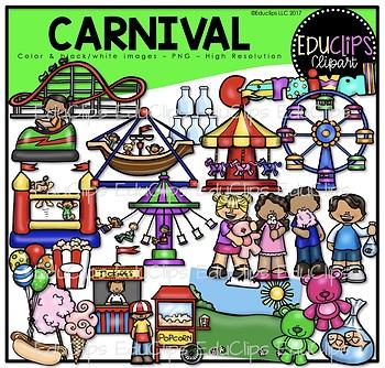 Clip art bundle educlips. Activities clipart carnival