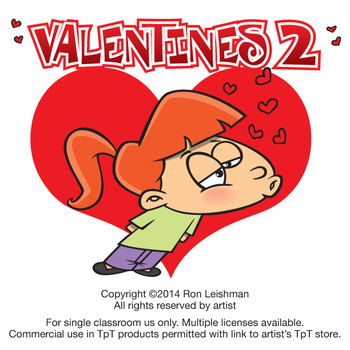 Valentines vol by ron. Activities clipart cartoon