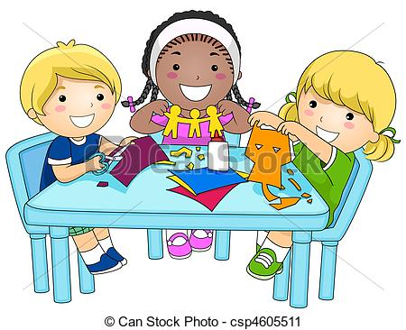 Activities clipart cartoon. Small group mrs sarah
