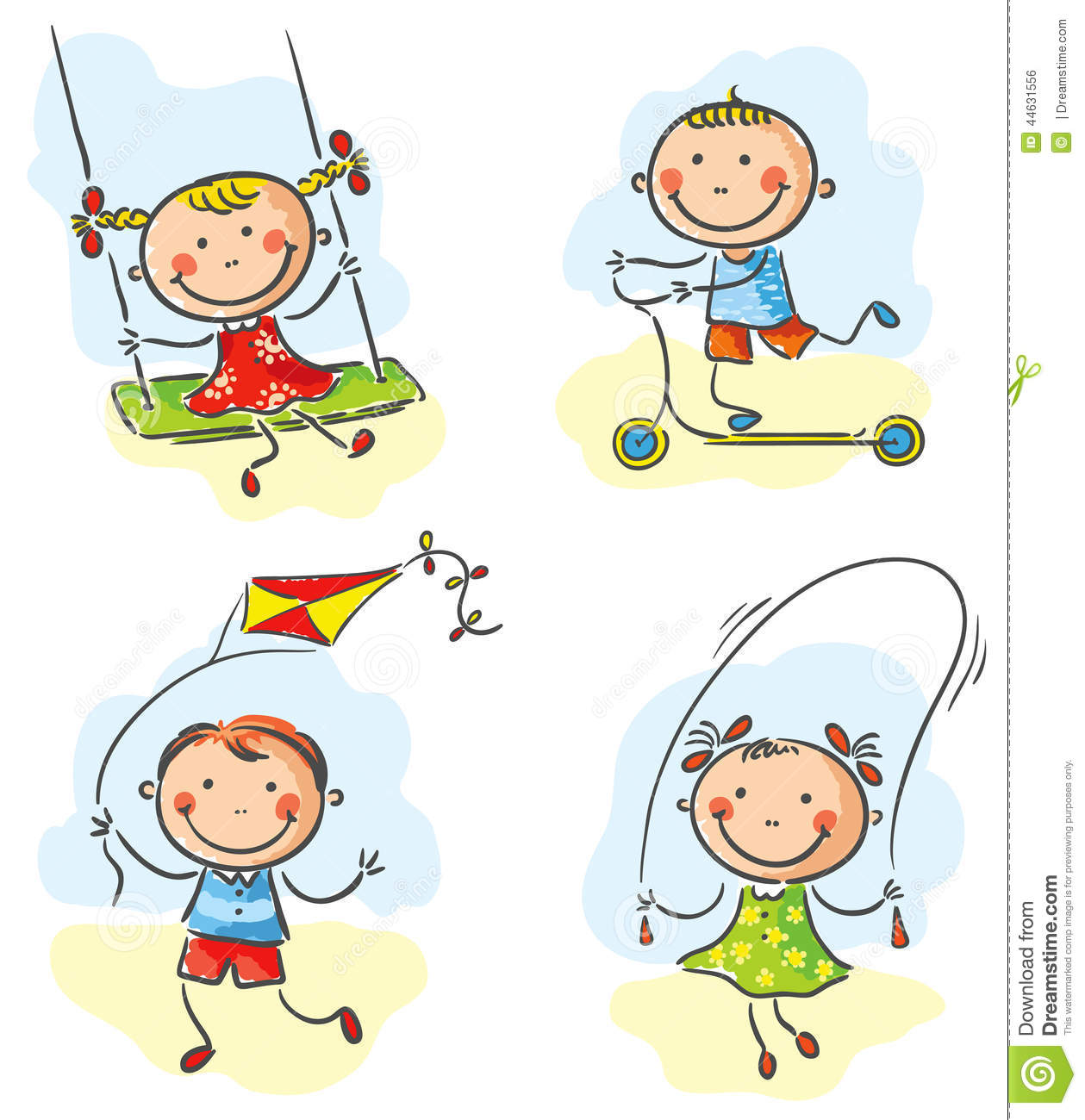 Outdoor pencil and in. Activities clipart cartoon