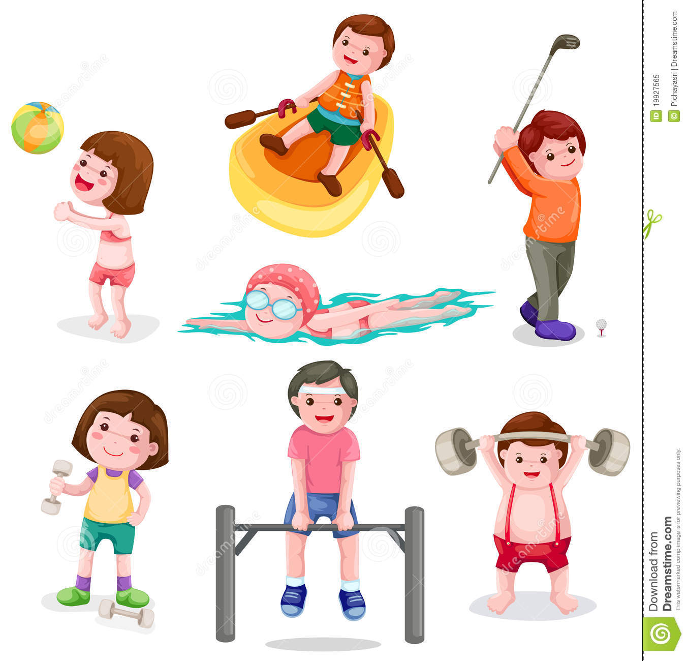 Activities clipart child activity. Physical for children
