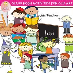 Activities clipart classroom. Zoo animals clip art