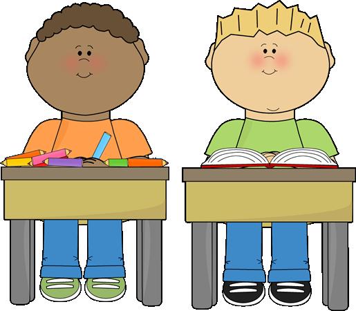 School kids clip art. Activities clipart classroom
